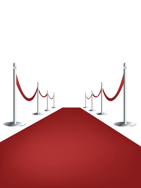 teatro ganador alfombra terciopelo estrella exito