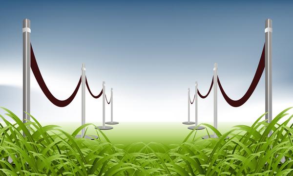 sala entretenimiento arte liberado verde entrada