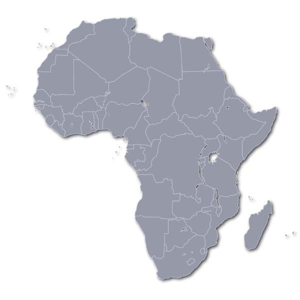 africa mapa territorio