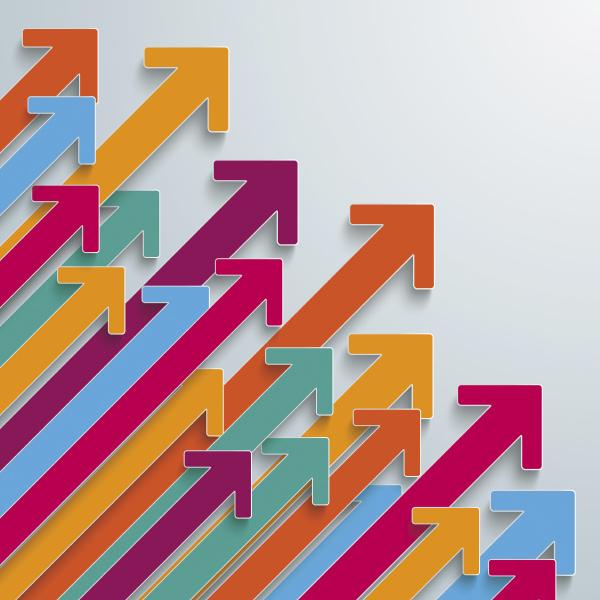 flechas de colores graficos vectoriales