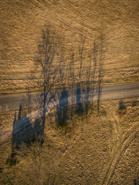vista aerea de la sombra de