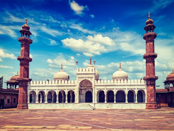 mezquita de la perla moti masjid