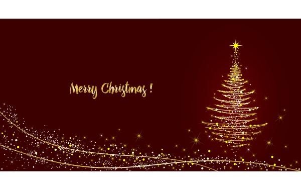 tarjeta de felicitacion arbol de navidad