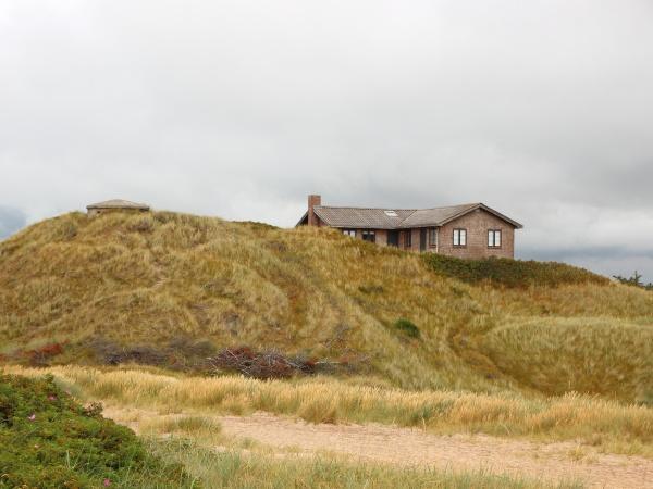 casa de verano en la parte