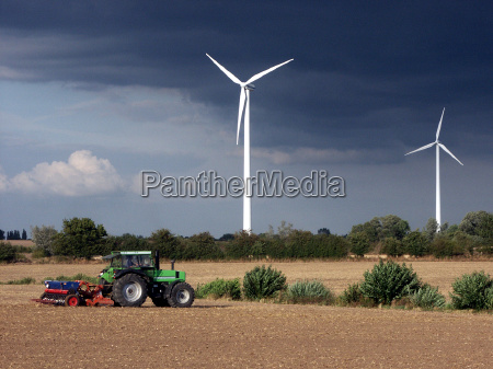planta de energia eolica