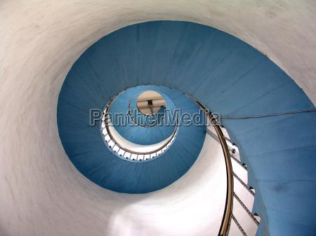 escalera del faro