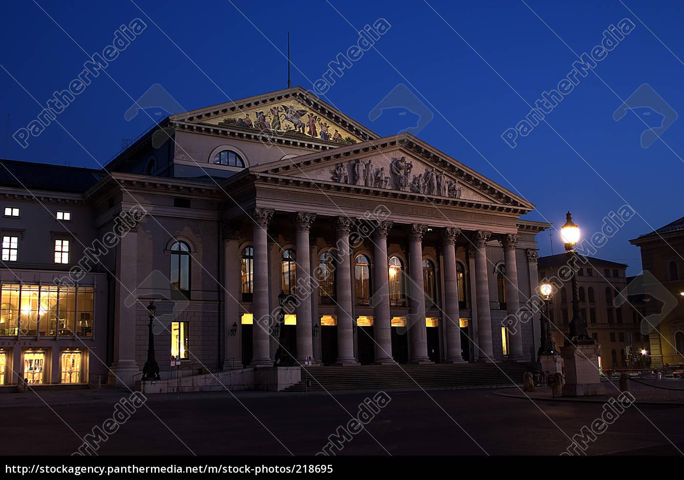 teatro, nacional, de, múnich - 218695