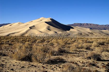 desierto ondas eeuu california duna arenas