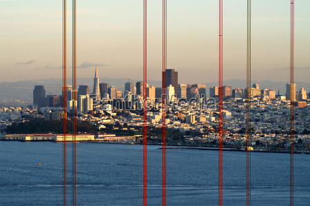 puente eeuu tarde california horizonte ver