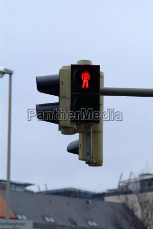 traffic light pedestrian red 1