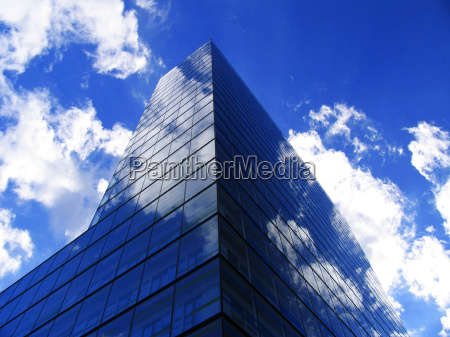 azul metropoli moderno ventana edificio de