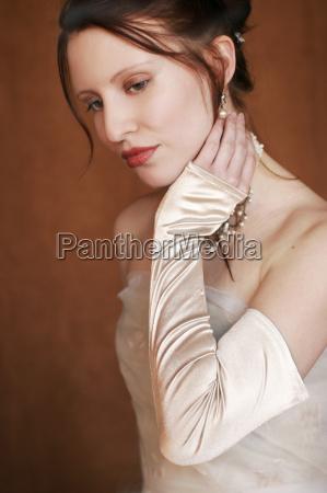 mujer hermoso bueno emociones boca retrato