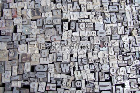 cartas tipo de metal