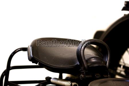 passenger seat vintage motorcycle