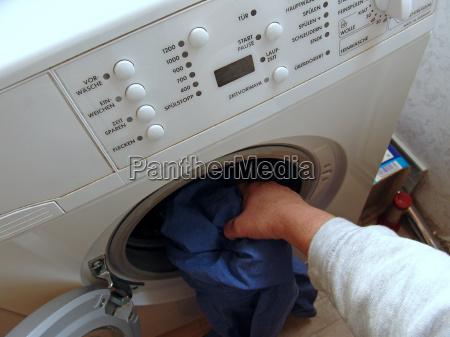 llenar de lavado