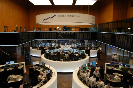 el mercado de valores de frankfurt