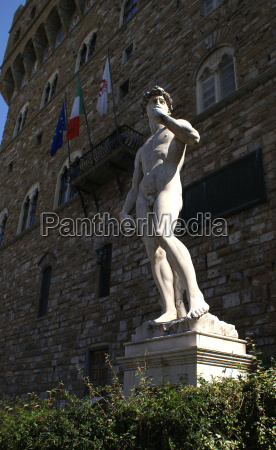arte estatua toscana marmol david florencia