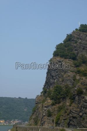 rin turismo rocas rock vista alemania
