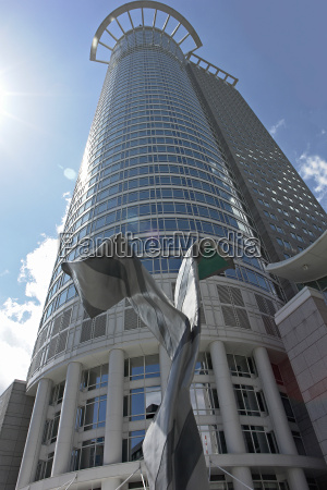 dz bank twin towers frankfurt