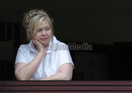 woman at the window ii