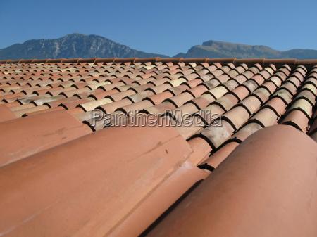 tijolo italiano telha telhado terracota tonziegel