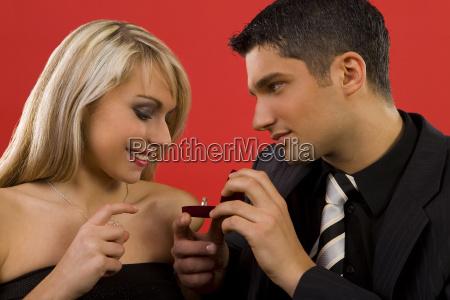 anillo sentimiento romantico regalo amor amatorio