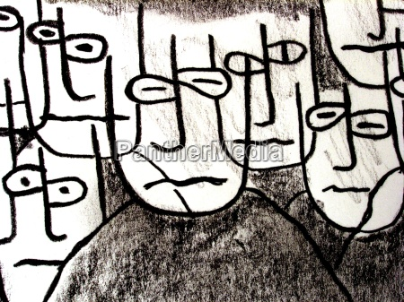 personas gente hombre cara cabezas dibujo