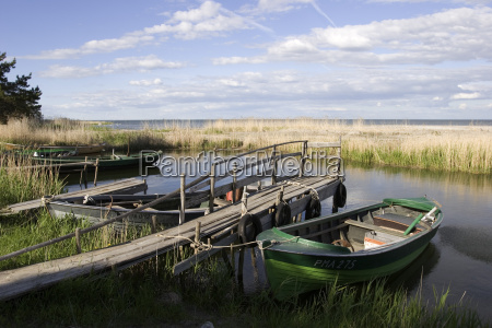 puerto pescado pesca red barco de