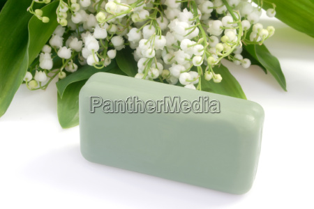 soap with lily of the valley