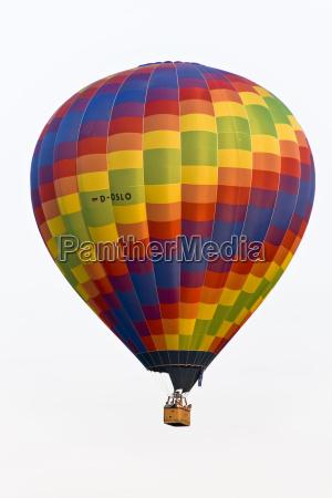 gondola globo pasajeros aire
