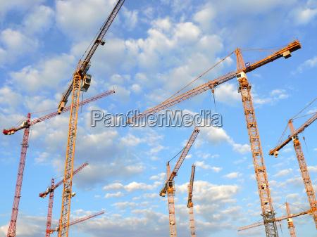 gruas de construccion