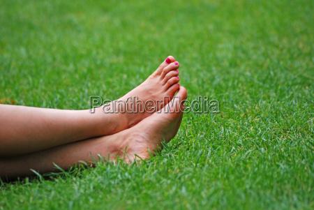 piernas verde verano veraniego mentira pie