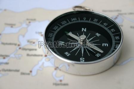 compass en limfjord