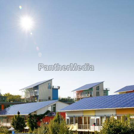 estilo de construccion arquitectura solar energia