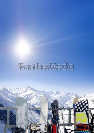 el sol de esqui