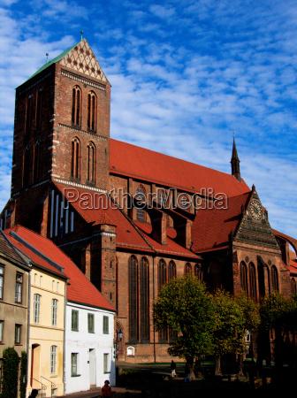 iglesia de san nicolas en wismar