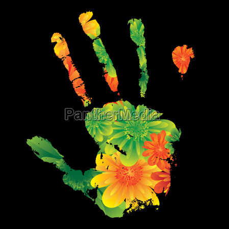 flor planta presion identidad fondo imprimir