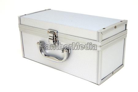 cerrado metal contenedor aluminio caja pecho
