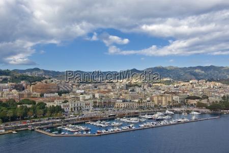 ciudad puerto puertos sicilia camino italia