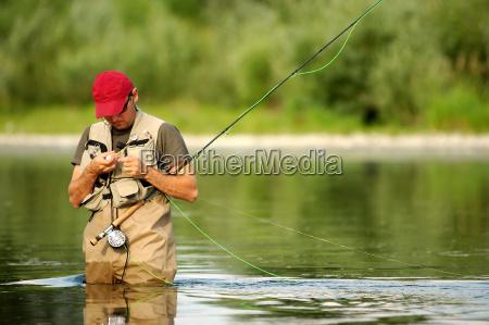 pesca pescador pescador de canya