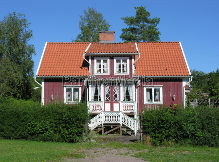 swedish wooden house