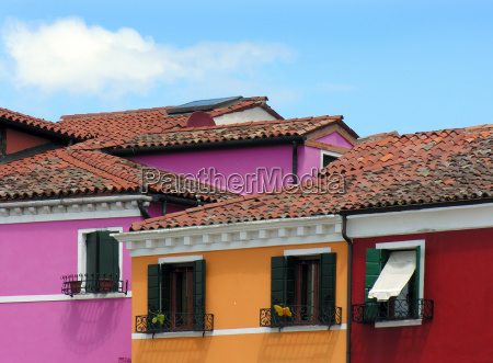 houses in burano