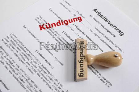 rescision del contrato de trabajo