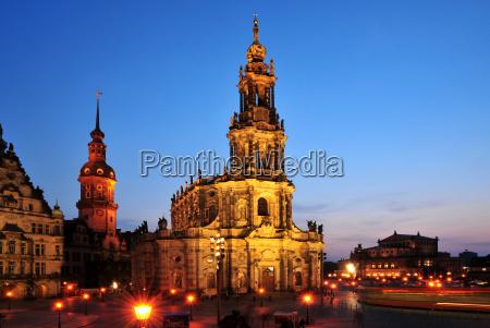 hofkirche en dresde