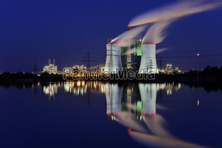 central electrica poder carbon proteccion ambiental