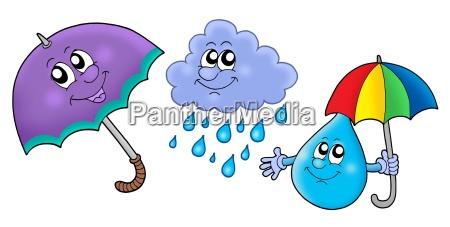 imagenes de lluvia otonyal