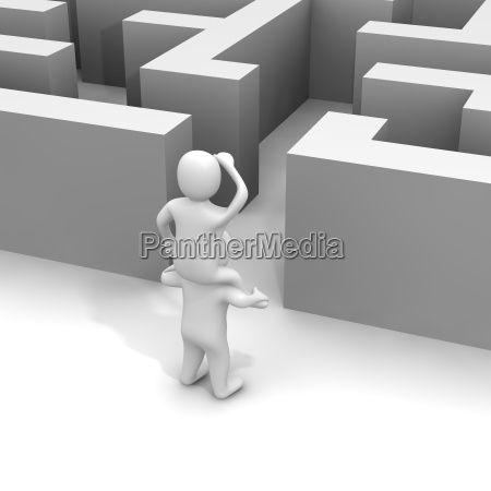 encontrar el camino a traves del