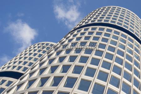 la arquitectura moderna curvada
