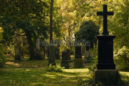 cementerio con las cruces