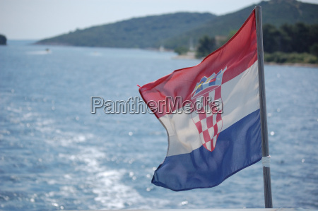 fiesta vacaciones turismo bandera croacia de